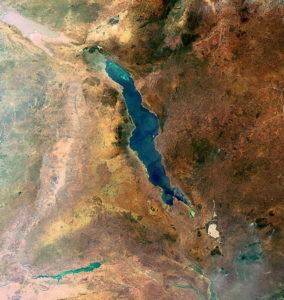 озеро Малави в Восточной Африке